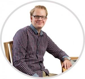 Erik Sundell bygger en professionell hemsida